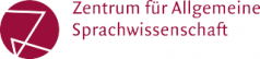 Logo Zentrum für Allgemeine Sprachwissenschaft (ZAS)
